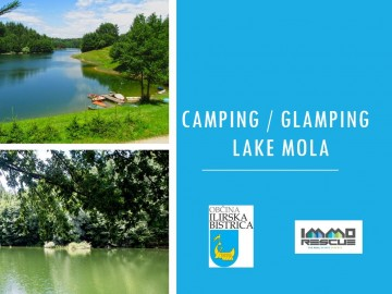 Camping, Glamping investment oportunity lake MOLA Slovenia